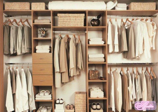 Обустройство гардеробной – где заказать шкаф?
